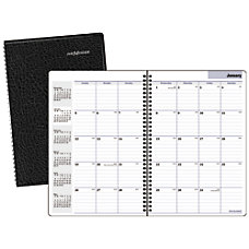 DayMinder 30percent Recycled Professional Monthly Planner