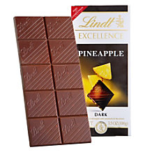 Lindt Excellence Chocolate Pineapple Chocolate Bars