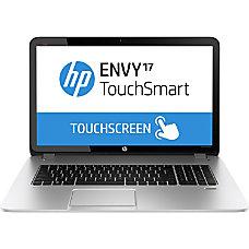 HP ENVY TouchSmart 17 j100 17