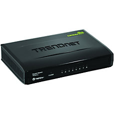 TRENDnet 8 Port Gigabit GREENnet Switch