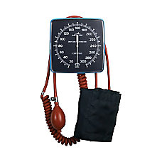 Medline Wall Mount Aneroid Sphygmomanometer Latex