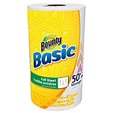 Bounty Basic Paper Towels 11 x