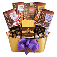 Givens Gift Basket Grand And Golden