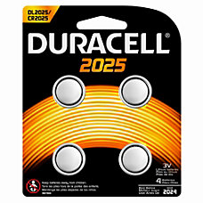 Duracell Lithium Coin Cell Batteries Pack