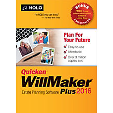 Quicken WillMaker Plus 2016 Download Version