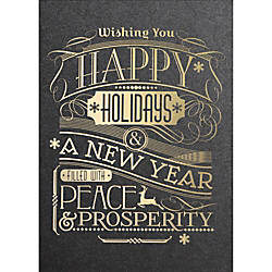 Personalized Holiday Cards With Envelopes Gatsby