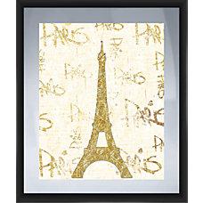 PTM Images Framed Art Paris Silver
