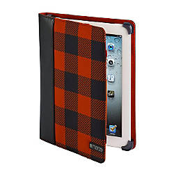 Maroo Koe II Carrying Case (Portfolio) for iPad - Red, Black