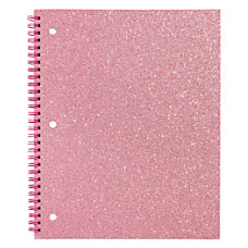 Divoga Glitter Spiral Notebook 8 12
