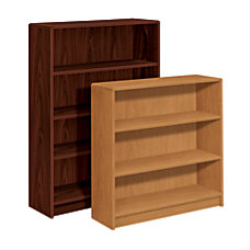 HON Radius Edge Bookcase 3 Shelves