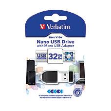 Verbatim Store n Go Nano USB