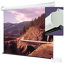 Draper Luma Manual Projection Screen