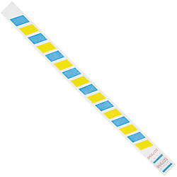 Office Depot Brand Tyvek Wristbands Stripes