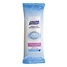 Purell Sanitizing Wipes Pack Of 36