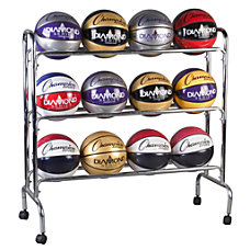 Champion Sports 12 Ball Basketball Rack