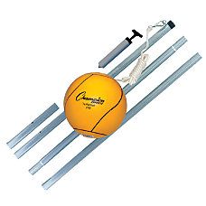 Champion Sports Deluxe Tetherball Set Yellow