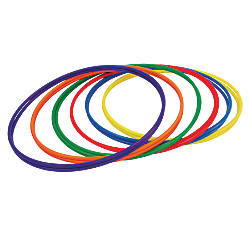 Champion Sports Plastic Hoops 30 Assorted