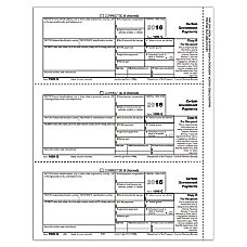 ComplyRight 1099 G InkjetLaser Tax Forms
