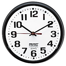 Shatterproof Crystal Dial Cover Clock 8