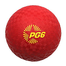 Champion Sports Playground Ball 6 Red