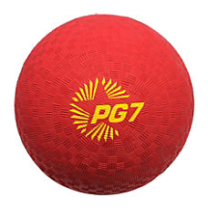 Champion Sports Playground Ball 7 Red