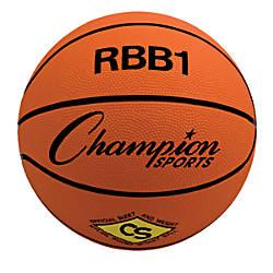 Champion Sports Basketball Size No7 Orange