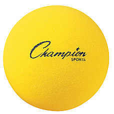 Champion Sports Uncoated Foam Ball 7