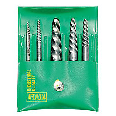 IRWIN Spiral Screw Extractor Set 9