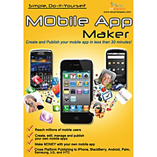 Mobile App Maker Traditional Disc