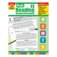 Evan Moor Daily Reading Comprehension Grade