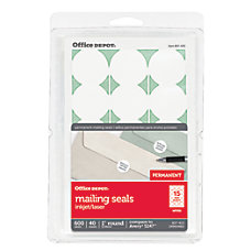 Office Depot Brand Permanent Mailing Seals
