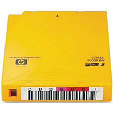 HP LTO Ultrium Data Cartridges Pack