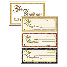 Adams Gift Certificates Kit Pack Of