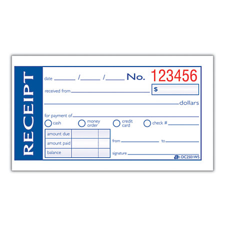Doc500240 Payment Receipt Book Payment Receipt Book Business – Payment Receipt Book