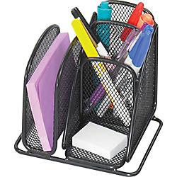 Safco Onyx Mini Desk Organizer 6