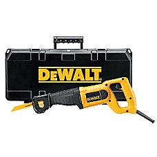 DeWalt 10Amp Reciprocating Saw Kit