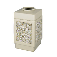 Safco Open Top 38 Gallon Receptacle