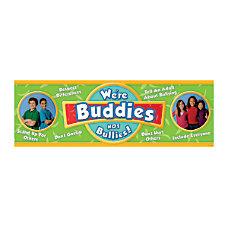 Edupress Classroom Banner Were Buddies Not
