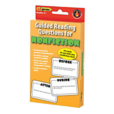 Edupress Nonfiction Guided Reading Cards 3
