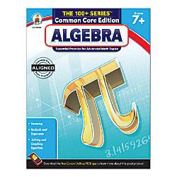 Carson Dellosa The 100 Series Algebra