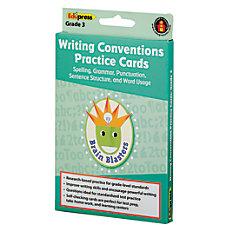 Edupress Brain Blasters Writing Conventions Practice