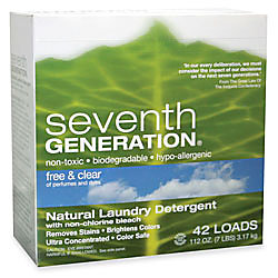Seventh Generation Natural Laundry Powder Detergent 112 Oz