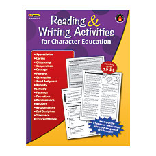 Edupress Reading And Writing Activities For
