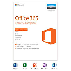 Office 365 Home 1 year subscription