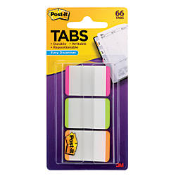 Post it Durable Filing Tabs 1