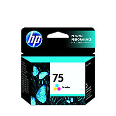 HP 75 Tricolor Original Ink Cartridge