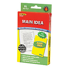 Edupress Reading Comprehension Practice Cards Main