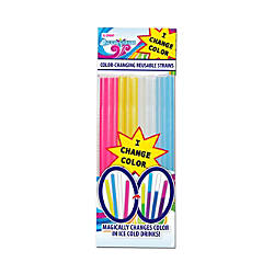 Cool Change Color Changing Drinking Straws
