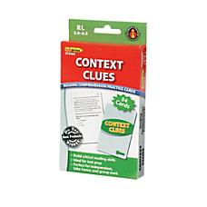 Edupress Reading Comprehension Practice Cards Context