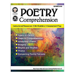 Mark Twain Media Poetry Comprehension Grades